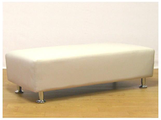 04スツール120サイズホワイト色