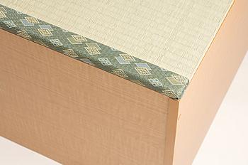 畳収納ユニット畳マット部拡大