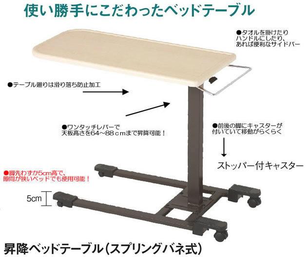 ベッドサイドテーブル YTK-95